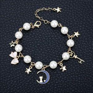 Jewelry - Brand New Sailor Moon Charms and Beads Bracelet